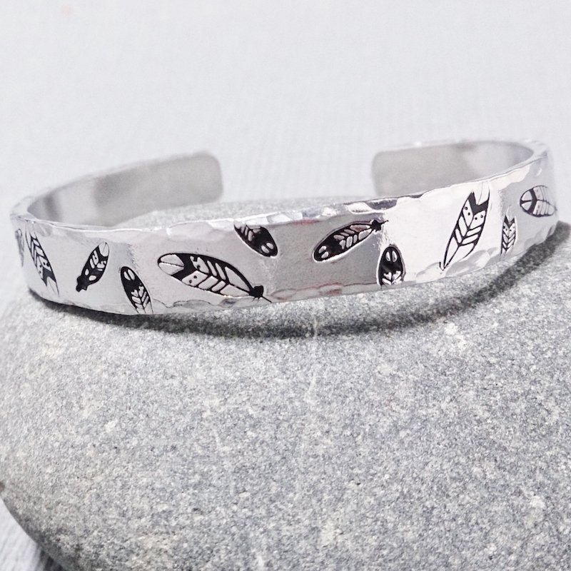hand-stamped jewellery